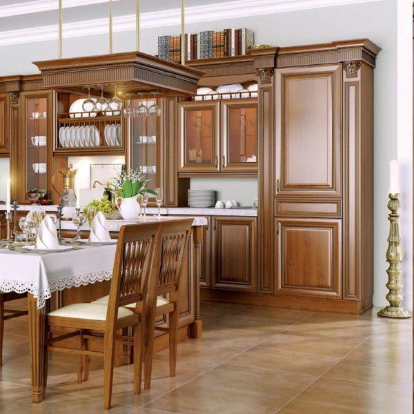 "Кухня Бергонцо | Мебельная фабрика ""Гепард"""